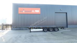 semi remorque Krone 40FT HC, Gewicht: 5.280kg, hinten ausziehbar, NL-Chassis, BPW, TÜV: 11/06/2020