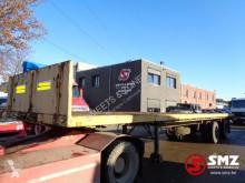 Pacton Oplegger Blad lames/Steel jumelee semi-trailer