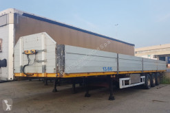 TecnoKar Trailers dropside flatbed semi-trailer