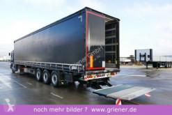 semi remorque Schmitz Cargobull SCS 24 / LBW 2000 kg / RUNGENTASCHEN / UNI BLACK