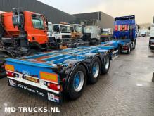 semi remorque Broshuis D-TEC flextrailer multi 20 ft 40 ft 45 ft