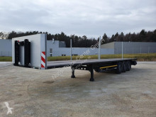 Kögel S24-1 Plattform / kurze Stirnwand / Liftachse semi-trailer