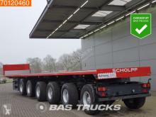 semiremorca ES-GE 6-Axle Ballast trailer 85.000 GVW 5x Lenkachse 2x Liftachse Hardholz-Boden