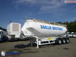 Omeps Powder tank alu 40 m3 + engine/compressor semi-trailer