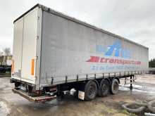 Fruehauf TX34CS - SAF - DHOLLANDIA TAILLIFT / LBW - LIFT AXLE - ANTI THEFT CURTAINSIDES - CLEAN CHASSIS - NO ROST semi-trailer