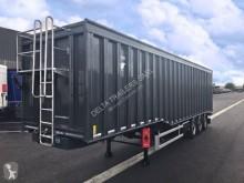 Gervasi 80m3 - double vérins - disponible sur parc actuellement semi-trailer
