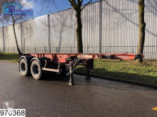 semi remorque Asca Container 10 UNITS, 20 FT container chassis, Steel suspension