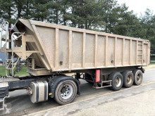 semirimorchio Benalu 30m³ - Fruehauf Benne - 3-ESS. SMB - LAMES - alu / alu - bonne etat condition - SMB - STEEL SPRING - GOOD CONDITION
