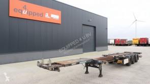 D-TEC 45FT HC, SAF+disc, ADR, 3x extendable, liftaxle, NL-Chassis, APK 07/2020 semi-trailer