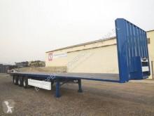 semirremolque caja abierta transporta paja usado