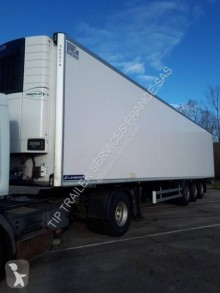 Lamberet FRIGO MONO TEMPERATURE CLOISON AVEC RIDEAU RELEVABLE semi-trailer
