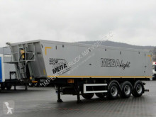 naczepa Mega TIPPER 41 M3 / LIFTED AXLE / FLAP-DOORS /