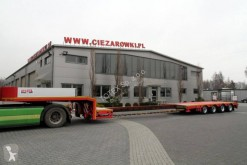 naczepa ES-GE Low loader semi-trailer 4-axis, extendable, widening 2 steering axles