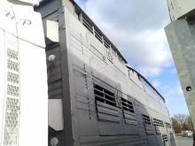 damaged cattle semi-trailer