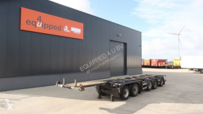 trailer D-TEC CT-53-05D 5-axle combi-chassis, ALCOA, BPW, NL-chassis