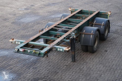 semi reboque Renders Container chassis 20ft. / Steel suspension