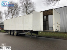 semi remorque Samro gesloten bak Closed body with L + R side doors, Disc brakes