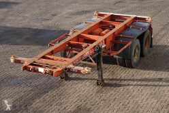 semirimorchio Van Hool Container chassis 20ft. / Steel suspension