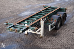 semi reboque Flandria Container chassis 20ft. / Steel suspension