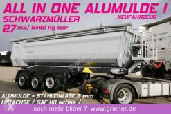 semirremolque Schwarzmüller K serie /ALUMULDE 5480 KG 27m³/STAHLEINLAGE HARD