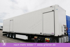 Krone SDP 27/ STAHLKOFFER TEXTIL / 2 x TÜRE semi-trailer