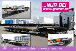 semi reboque Kässbohrer JS / JUMBO PLATEAU / LIGHT / 6500 kg / LENKACHSE