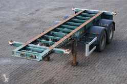 Flandria Container chassis 20ft. / Steel suspension semi-trailer