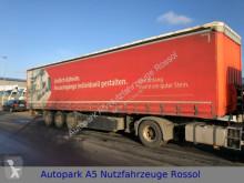 semirremolque Krone SD Auflieger Pritsche + Plane Liftachse SAF