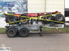 Asca Container 10 UNITS, 20 FT container chassis, Steel suspension semi-trailer