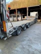 Kaiser surbaissé semi-trailer