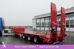 porte engins Müller-Mitteltal TS 3 / TIEFLADER / LENKACHSE / 3 x 10 TO /RAMPEN