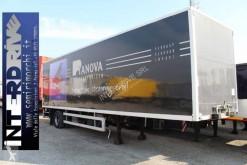 semi remorque Fruehauf semirimorchio 10m furgone sponda usato monoasse