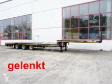 Möslein 3 Achs Satteltieflader Plato für Fertigteile, B semi-trailer