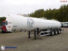 Magyar Chemical tank inox 22.5 m3 / 1 comp semi-trailer