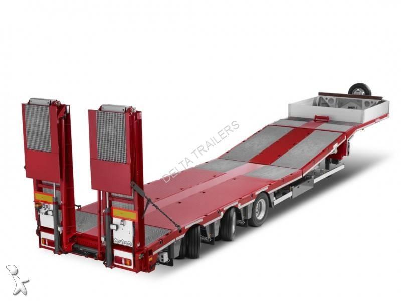 Nooteboom Portes Nacelles avec essieux directionnels semi-trailer