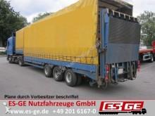 semirremolque Langendorf 3-Achs-Satteltieflader - einteilige Rampe