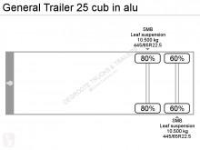 Zobaczyć zdjęcia Naczepa General Trailers 25 cub in alu