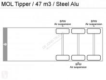 Ver las fotos Semirremolque MOL Kipper, 47 m3