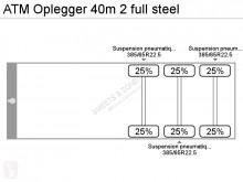 Ver as fotos Semi reboque ATM Oplegger 40m 2 full steel
