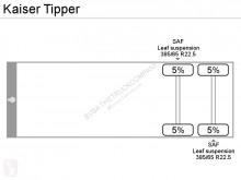 Voir les photos Semi remorque Kaiser Tipper