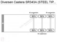 Voir les photos Semi remorque nc Castera SR343A (STEEL TIPPER AND CHASSIS)