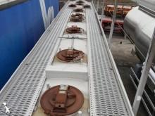 semirremolque Trailor cisterna hidrocarburos 40 000 l DO PALIWA 11 KOMÓR 3 ejes usado - n°2303898 - Foto 12