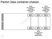 Zobaczyć zdjęcia Naczepa Pacton container chassis