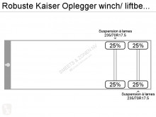 Voir les photos Semi remorque Robuste Kaiser Oplegger winch/ liftbed new tyres