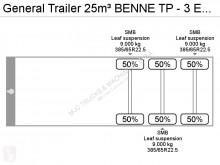 Voir les photos Semi remorque General Trailers 25m³ BENNE TP - 3 ESS. SMB - CHASSIS ALU / BENNE ALU - SUSP. LAMES - ALU CHASSIS / ALU TIPPER - STEEL SPRING
