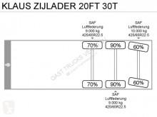 Voir les photos Semi remorque nc Klaus ZIJLADER 20FT 30T ICM SCANIA P340