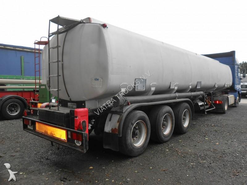 Used N A Tanker Semi Trailer Trabosa Cobo Tanker 38178l