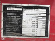 Voir les photos Semi remorque Langendorf SKA 24/28 Stahlmulde ca. 50m³ SKA 24/28 Stahlmulde ca. 50m³