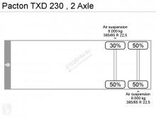 Voir les photos Semi remorque Pacton TXD 230 ,