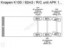 Voir les photos Semi remorque Knapen K100 / 92m3 / R/C unit APK 18-08-2020